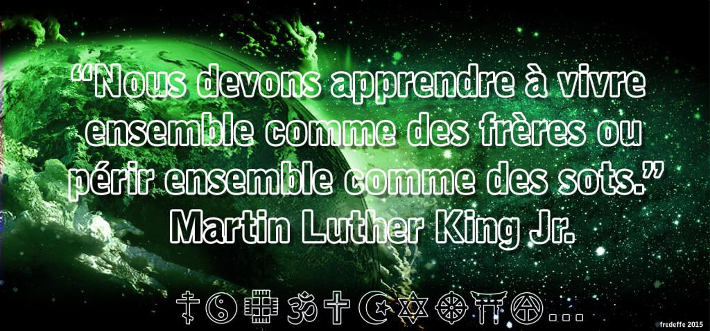 La Sagesse et tolérance de Martin Luther King