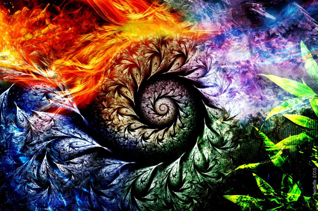 les_quatres_dragons_elements_priere_chamanique